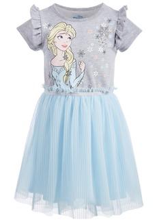 Disney Toddler Girls Pleated Elsa Dress
