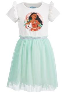 Disney Little Girls Pleated Moana Dress