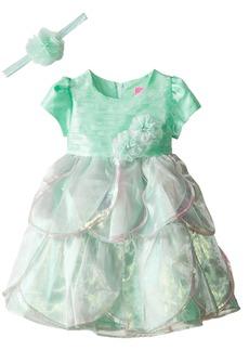 Disney Little Girls' Toddler Princess Ariel Dress with Matching Tiara