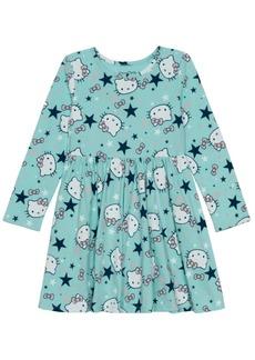 Disney Toddler Girls Star Wonderland Long Sleeve Dress