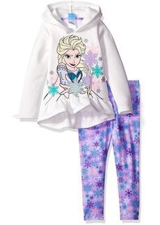 Disney Little Girls' Toddler 2 Piece Frozen Fleece Hoodie and Legging Set