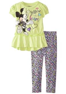 Disney Little Girls' Toddler Minnie Follow Your Heart Legging Set
