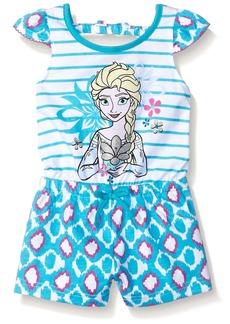 Disney Little Girls' Toddler Elsa Frozen Romper