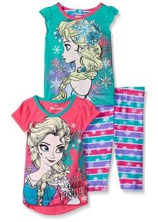 Disney Little Girls' Toddler Frozen 3 Piece Legging Set