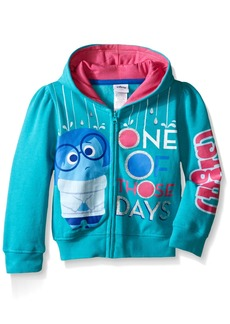 Disney Little Girls' Toddler Inside Out Sadness One of Those Days Hoodies