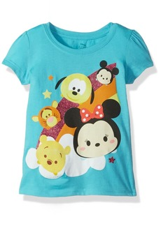 Disney Little Girls' Toddler Tsum Tsum T-Shirt