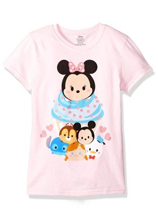 Disney Little Girls' Tsum Tsum T-Shirt