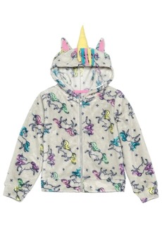 Disney Little Girls Unicorns Runaway Zip Hoodie