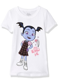 Disney Little Girls' Vampirina Short Sleeve T-Shirt