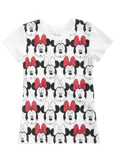 Disney's Minnie Mouse Cotton T-Shirt, Little Girls