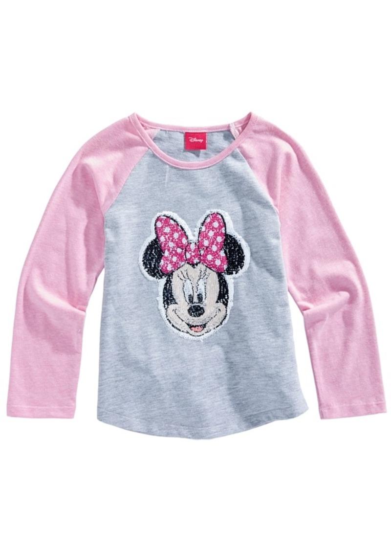 8fae0db8f Disney Disney Minnie Mouse Reversible-Sequin T-Shirt, Little Girls ...