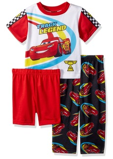 Disney Toddler Boys' Cars 3-Piece Pajama Set