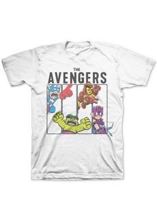 Disney Toddler Boys The Avengers Mini Blocks T-Shirt
