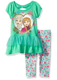 Disney Toddler Girls' 2 Piece Frozen Legging Set  2t