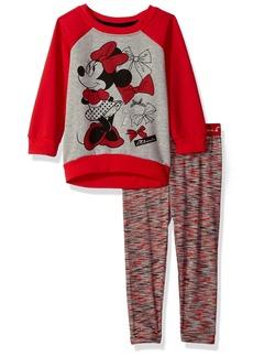 Disney Toddler Girls' 2 Piece Minnie Sweatshirt Set