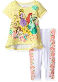 Disney Toddler Girls' 2 Piece Princesses Legging Set  4t