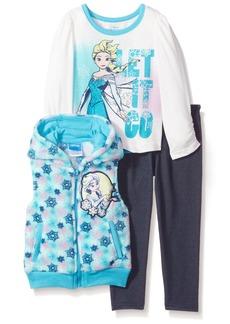 Disney Toddler Girls' 3 Piece Frozen Vest Set
