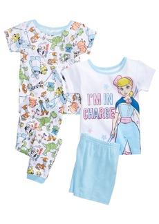 Disney Toddler Girls 4-Pc. Toy Story Pajama Set