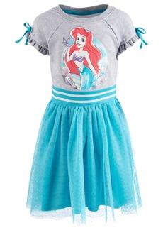 Disney Toddler Girls Ariel Glitter-Mesh Dress