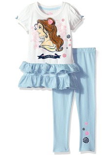 Disney Toddler Girls' Beauty and The Beast 2-Piece Legging Set