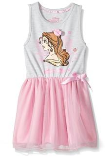 Disney Toddler Girls' Beauty and the Beast Belle Ruffle Dress