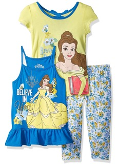 Disney Girls' Toddler Belle 3 Piece Legging Set
