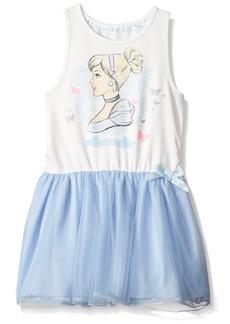 Disney Toddler Girls' Cinderella Ruffle Dress