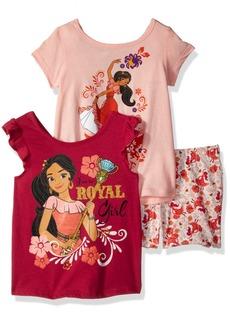 Disney Toddler Girls' Elena of Avalor 3 Piece Short Set