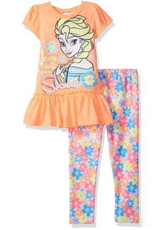 Disney Toddler Girls' Frozen Legging Set with Fashion Top