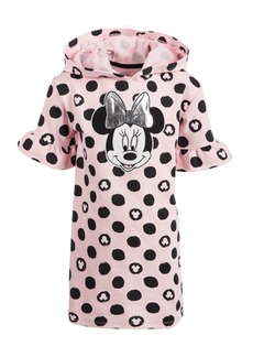 Disney Toddler Girls Hooded Minnie Mouse Dress