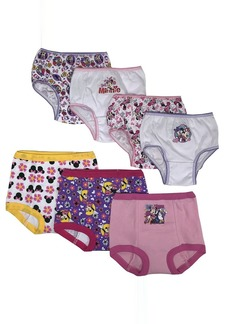 Disney Minnie Mouse Girls Potty Training Pants and Panties 7-Pack