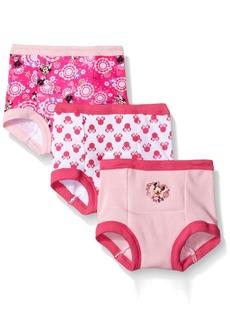 Disney Toddler Girls' Minnie Mouse 3pk Training Pant