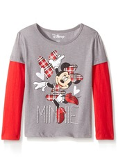 Disney Toddler Girls' Minnie Mouse Long-Sleeve Tops