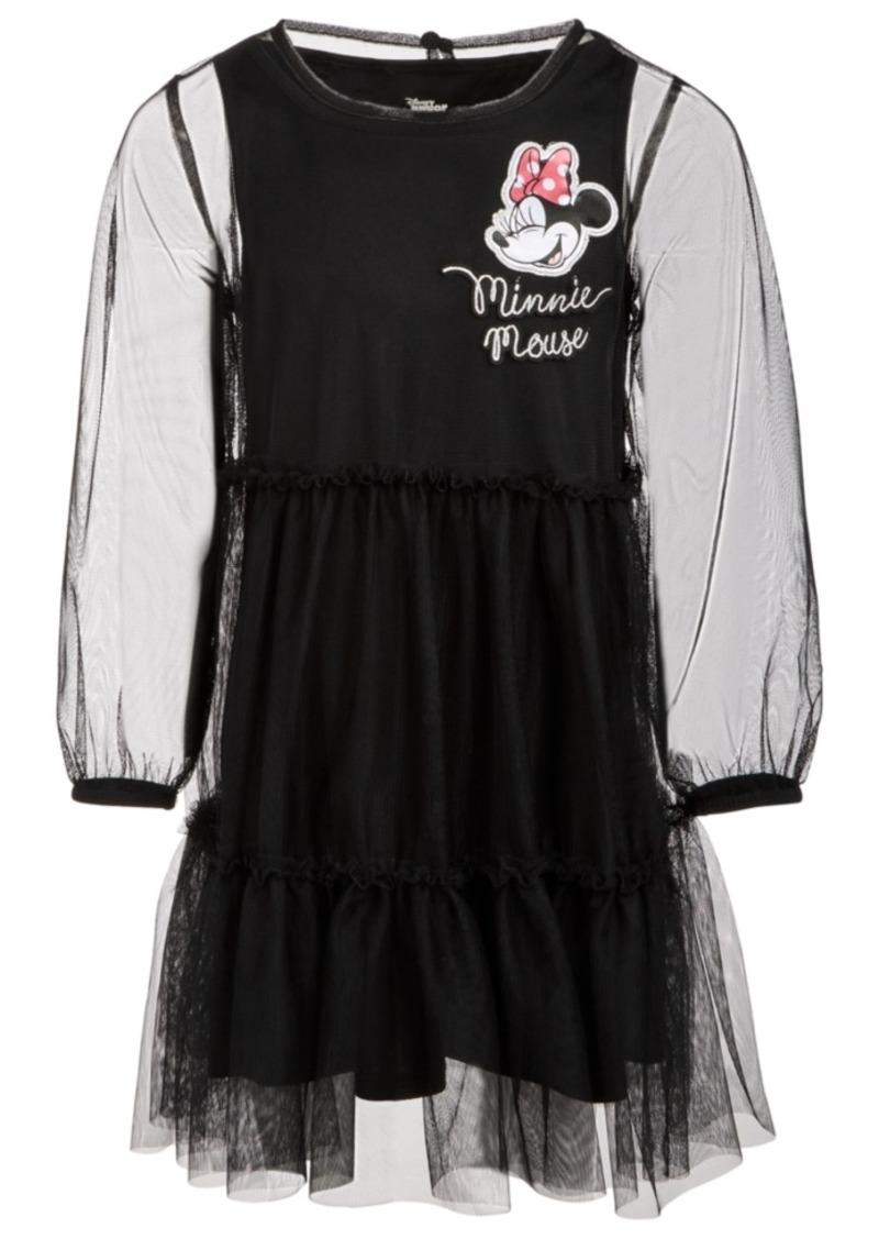 Disney Toddler Girls Minnie Mouse Mesh Dress