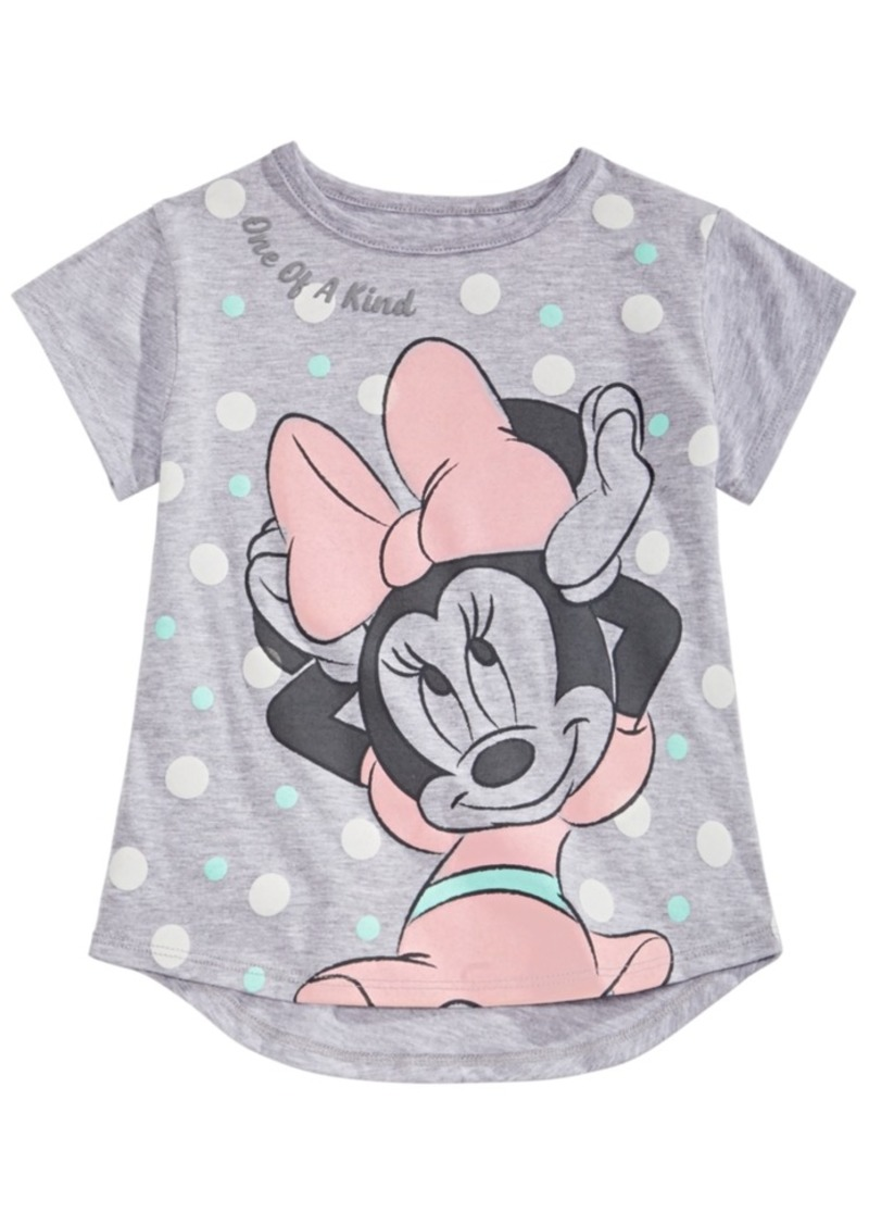 Disney Little Girls Minnie Mouse T-Shirt