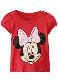 Disney Toddler Girls' Minnie Short Sleeve Puff Tee