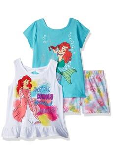 Disney Toddler Girls' Princess 3 Piece Short Set