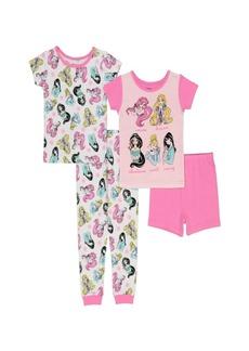 Disney Toddler Girls Princess Four Piece Set