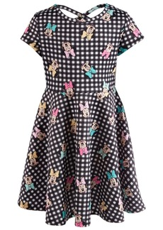 Disney Toddler Girls Printed Minnie Mouse Scuba Dress
