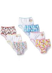 Disney Tsum 7 Pack Toddler Girls Underwear Assorted Prints
