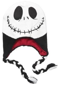 Disney Big Boys Nightmare Before Christmas Jack Laplander Hat Black/White/Red Age 8-18
