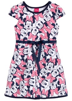 Disney's Minnie Mouse Fit & Flare Dress, Little Girls