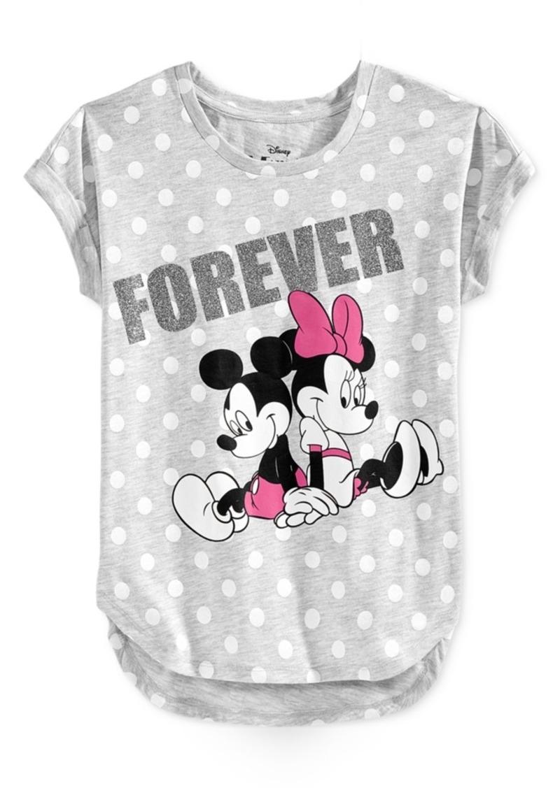 Disney's Minnie Mouse Graphic-Print T-Shirt, Big Girls (7-16)