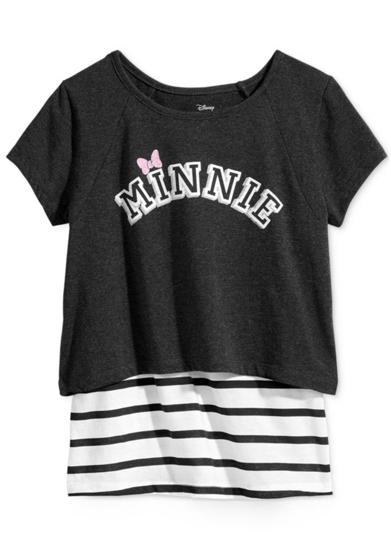 Disney's Minnie Mouse Layered-Look T-Shirt, Big Girls (7-16)