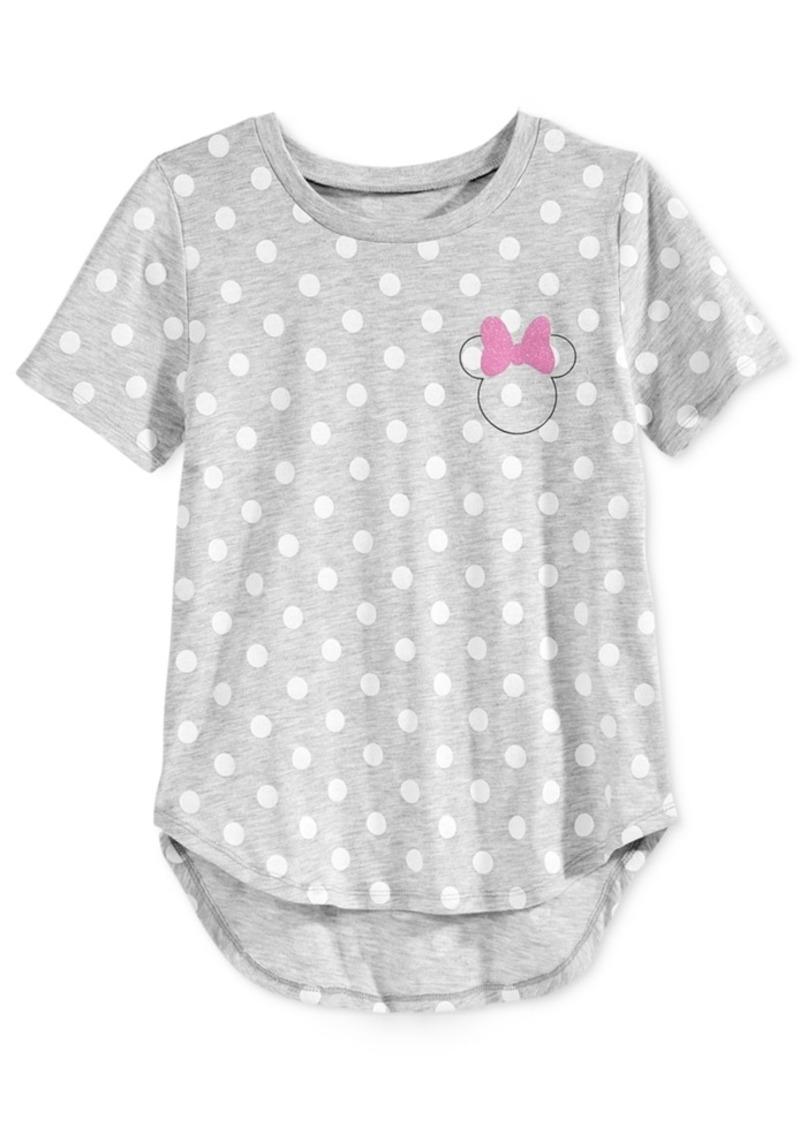 Disney's Minnie Mouse Polka-Dot Graphic T-Shirt, Big Girls (7-16)
