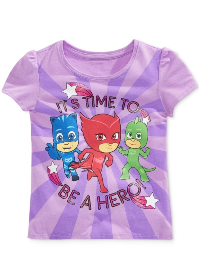 Disney's Pj Masks Little Girls' Graphic-Print T-Shirt