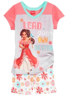 Disney's Princess Elena of Avalor 2-Pc. Pajama Set, Little & Big Girls