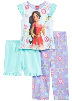 Disney's Princess Elena of Avalor 3-Pc. Pajama Set, Toddler Girls
