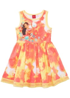 Disney's Princess Elena of Avalor Tie-Dyed Dress, Little Girls