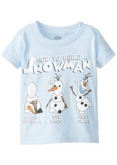 Disney Frozen Little Boys' Olaf - How To Build A Snowman T-Shirt